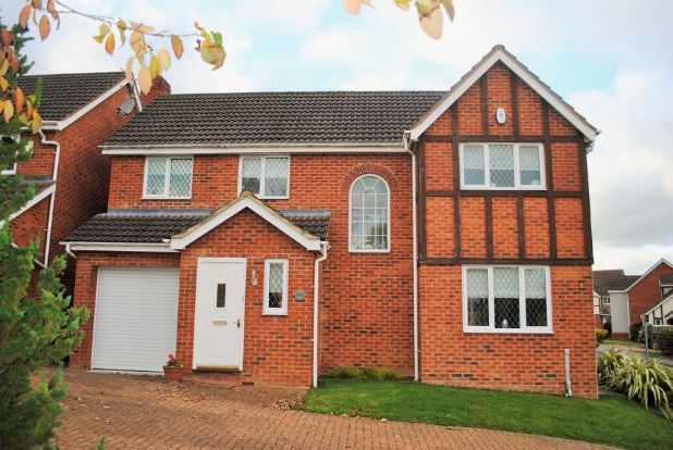 Thumbnail Detached house for sale in Rowley Way, Kingsthorpe, Northampton