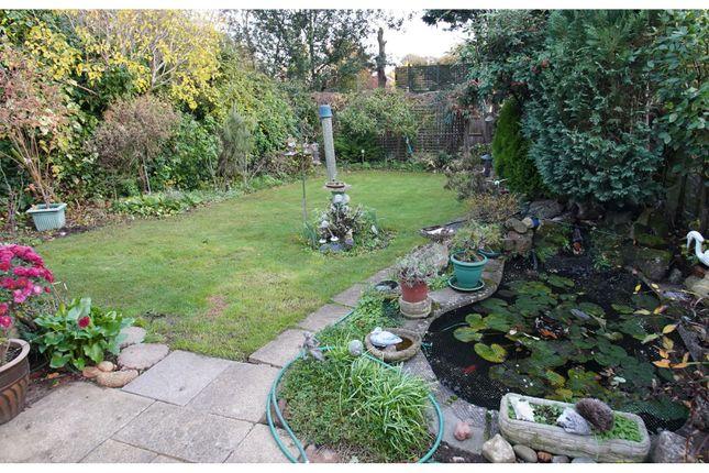 Rear Garden of Woodlands Road, Aylesford ME20