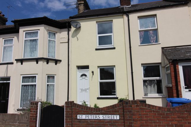 Thumbnail Terraced house to rent in St. Peters Street, Lowestoft