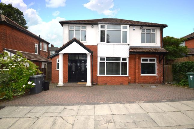 Thumbnail Detached house to rent in Stand Avenue, Whitefield, Manchester