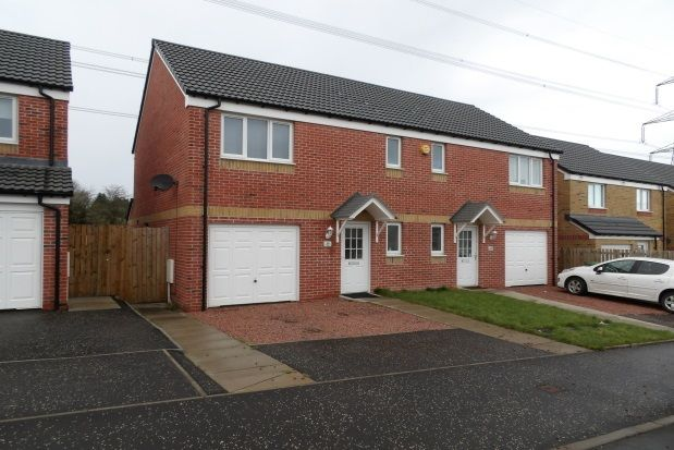 Thumbnail Semi-detached house to rent in Craigswood Way, Ballieston