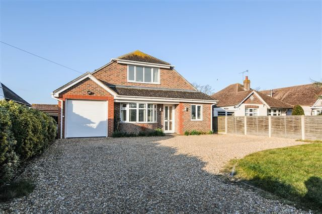 Thumbnail Detached house for sale in Bookers Lane, Earnley, Chichester