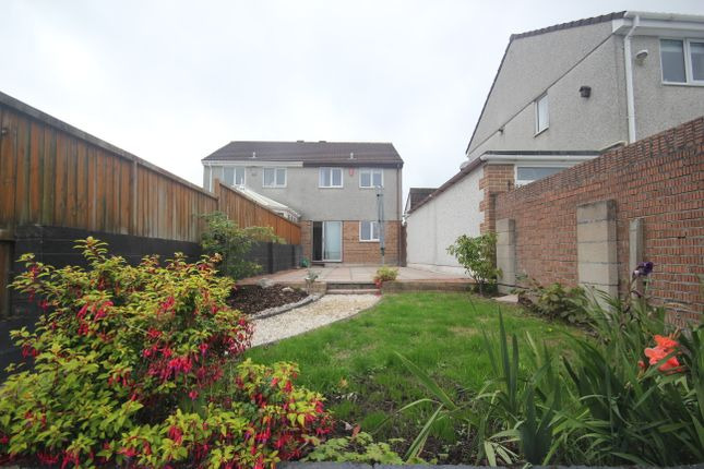 Thumbnail Semi-detached house to rent in Rougemont Close, Higher Compton, Plymouth