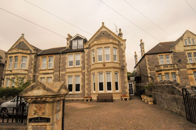 Thumbnail Semi-detached house for sale in Clarence Grove Road, Weston-Super-Mare