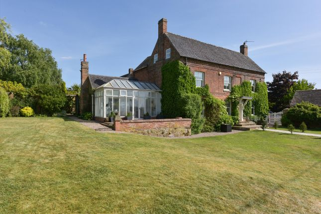 Thumbnail Detached house for sale in Main Road, Upton, Nuneaton, Leicestershire