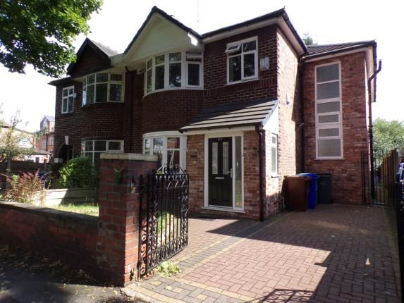 Thumbnail Semi-detached house for sale in Kingsbrook Road, Whalley Range, Manchester, Greater Manchester