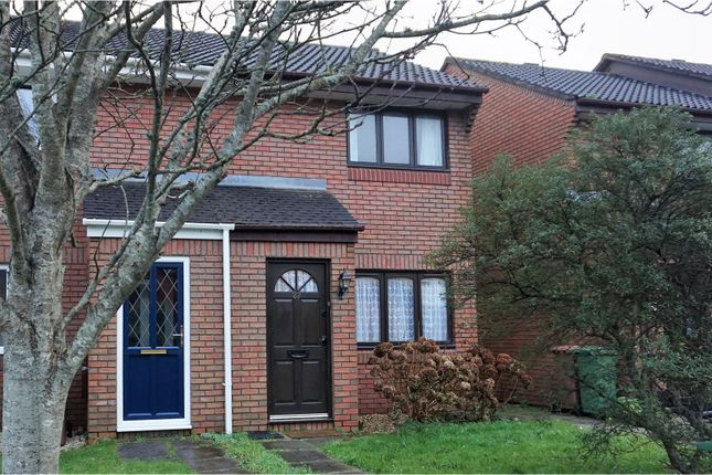 Thumbnail Semi-detached house for sale in Finch Close, Plymouth