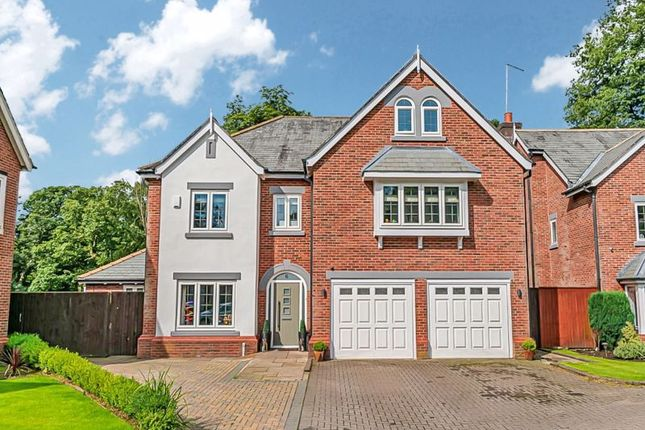 Thumbnail Detached house for sale in The Keep, Heaton, Bolton. Stunning Detached Family Home