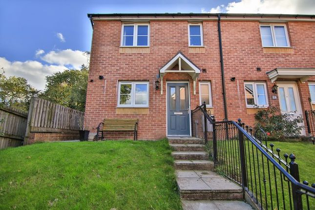 Thumbnail End terrace house for sale in Pen Y Dyffryn, Cwm Faenor, Merthyr Tydfil