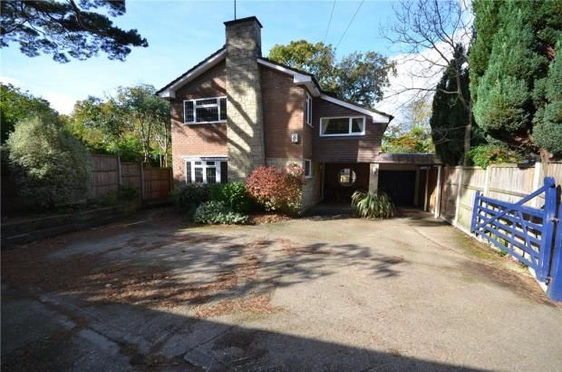 Thumbnail Detached house for sale in Cricket Hill Lane, Yateley, Hampshire