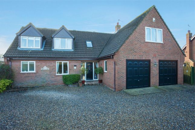 Thumbnail Detached house for sale in Mill Road, Blofield Heath, Norwich, Norfolk