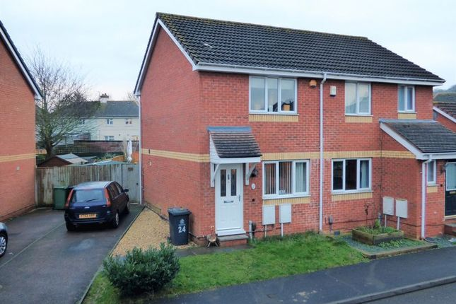 Thumbnail Semi-detached house for sale in Barnfields, Gloucester