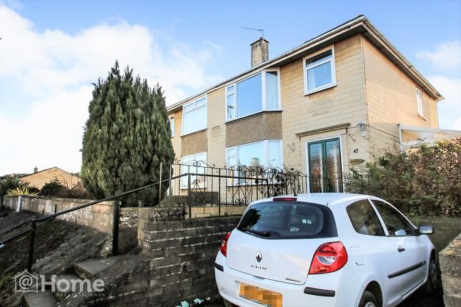 Thumbnail Semi-detached house for sale in Lymore Avenue, Bath