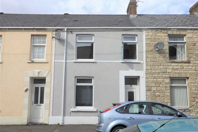 Thumbnail Terraced house to rent in Cambrian Place, Pontarddulais, Swansea