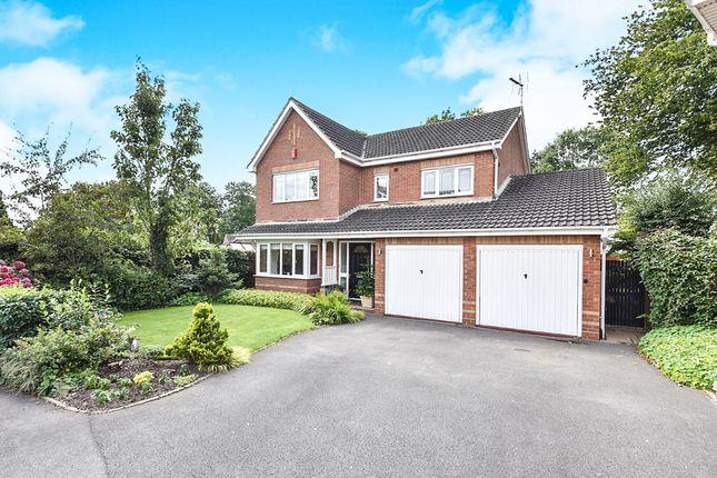 Thumbnail Detached house for sale in Kestrel Close, Mickleover, Derby