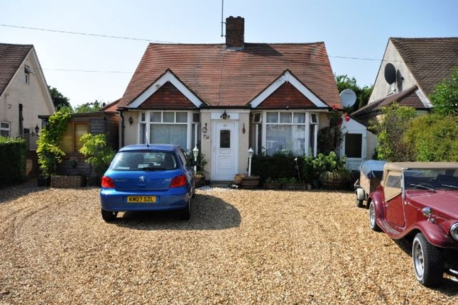 Thumbnail Bungalow for sale in North Avenue, Letchworth Garden, City Hertfordshire