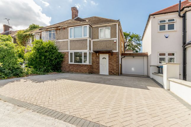 Thumbnail Semi-detached house to rent in Somerset Close, New Malden