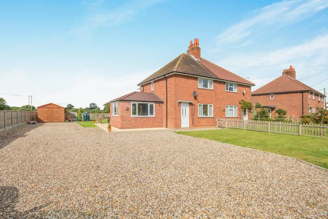Thumbnail Semi-detached house for sale in Abbey Close, Stuston, Diss