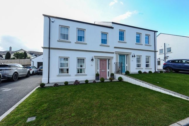 Thumbnail Semi-detached house for sale in Mountpleasant Park, Newtownards