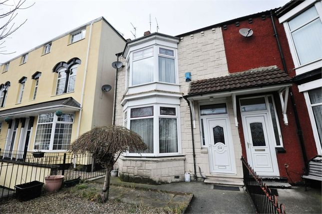 Thumbnail End terrace house for sale in Breckon Hill Road, Middlesbrough, North Yorkshire