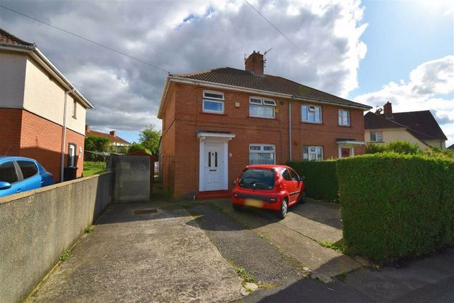 Thumbnail 3 bed semi-detached house for sale in Leinster Avenue, Knowle, Bristol