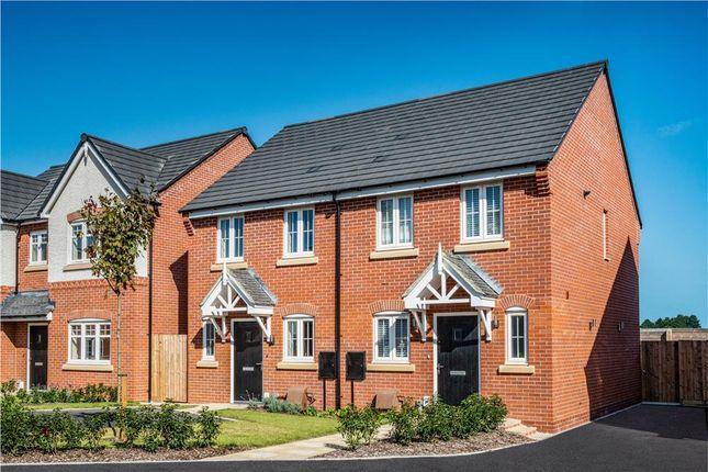 "Thumbnail Semi-detached house for sale in ""Beckford"" at Lowbrook Lane, Tidbury Green, Solihull"