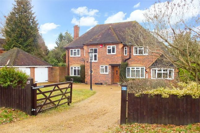 Thumbnail Detached house for sale in Coxheath Road, Church Crookham, Fleet