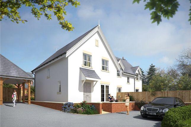 Thumbnail Semi-detached house for sale in Portman Road, Pimperne, Blandford Forum