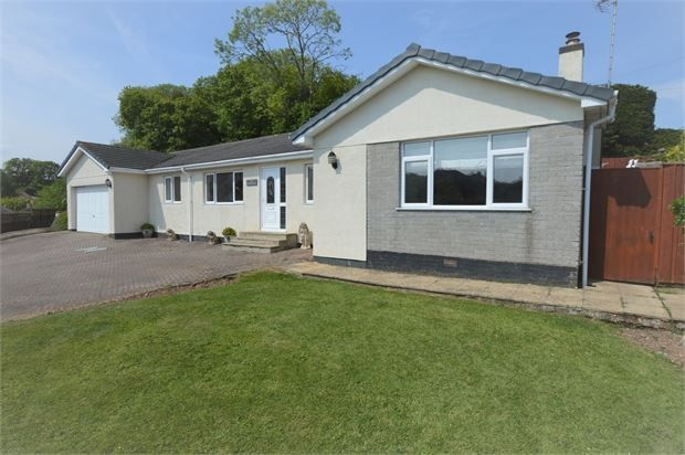 Thumbnail Detached bungalow for sale in Tor Gardens, East Ogwell, Newton Abbot, Devon.