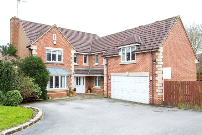 Thumbnail Detached house for sale in Stoneleigh Garth, Moortown, Leeds, West Yorkshire