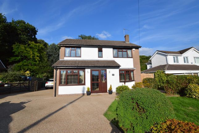 Thumbnail Detached house for sale in Clos Hereford, Llantrisant, Pontyclun