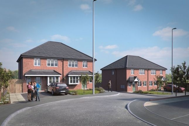 Thumbnail Semi-detached house for sale in Dudley, Holly Hall, Stourbridge Road, Church View, Plot Eight
