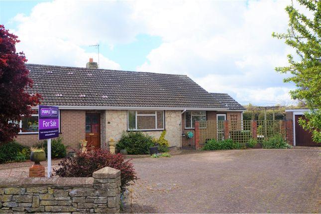 Thumbnail Detached bungalow for sale in Sun Grove, Wem