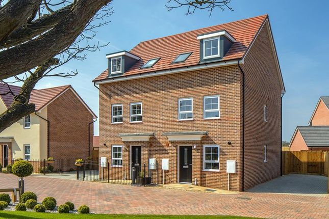 "Thumbnail End terrace house for sale in ""Norbury"" at Red Lodge Link Road, Red Lodge, Bury St. Edmunds"