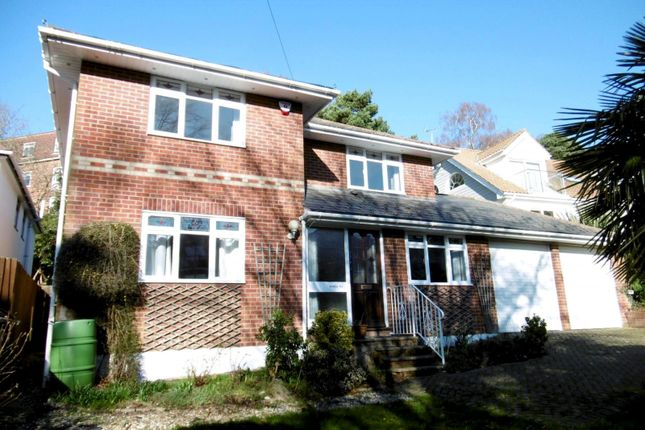 Thumbnail Detached house to rent in Belle Vue Road, Parkstone, Poole