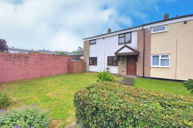Thumbnail End terrace house for sale in Douglas Drive, Stevenage, Hertfordshire
