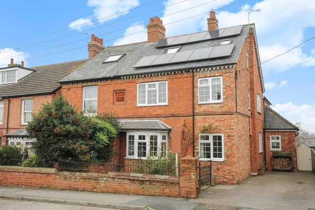 Thumbnail Semi-detached house for sale in Vicarage Lane, Steeple Claydon