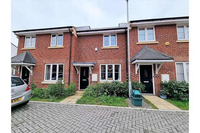 Thumbnail Terraced house for sale in Birchwood Drive, Colchester
