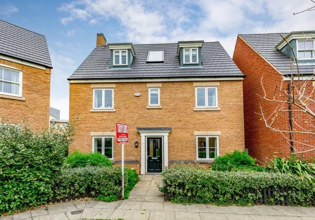 Thumbnail Detached house for sale in Digby Close, Duston, Northampton, Northamptonshire