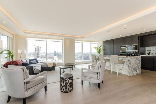 Thumbnail Flat for sale in Chelsea Creek Tower, Sands End