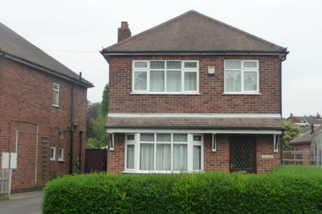Thumbnail Detached house to rent in Atherstone Road, Measham, Swadlincote