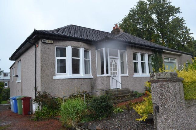 Thumbnail Semi-detached bungalow for sale in St Ronans Drive, Burnside, Rutherglen