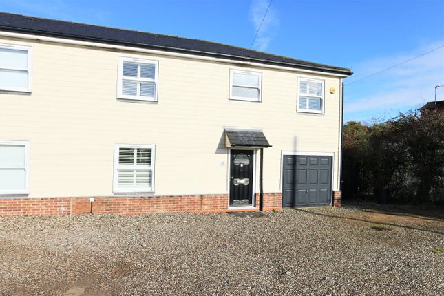 Thumbnail Semi-detached house for sale in Epping Road, Broadley Common, Nazeing, Essex