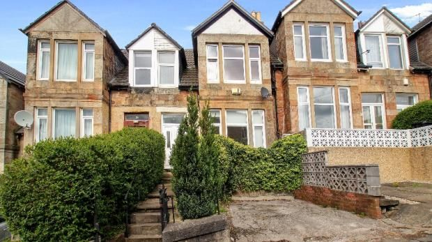 Thumbnail Town house for sale in Clincarthill Road, Glasgow