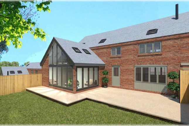 Thumbnail Link-detached house for sale in Hall Lane, Packington, Ashby-De-La-Zouch
