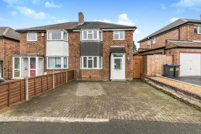 Front of Alvechurch Road, Northfield, Birmingham, West Midlands B31