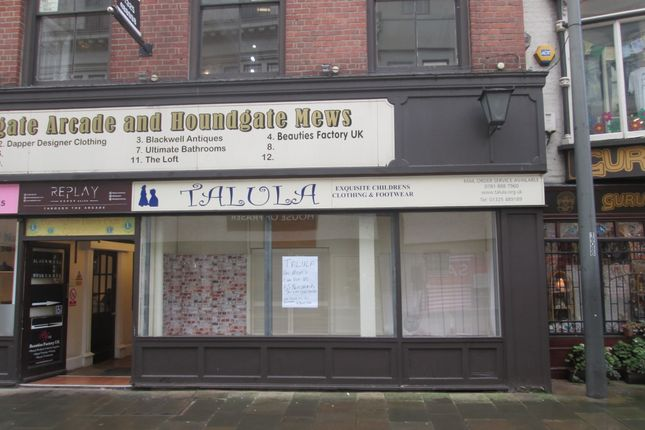 Thumbnail Retail premises to let in Houndgate Mews, Darlington