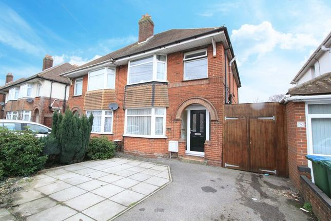 Thumbnail Semi-detached house for sale in Munro Crescent, Southampton