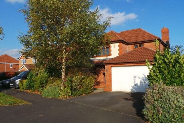 Thumbnail 4 bed detached house for sale in Holland House Road, Walton-Le-Dale, Preston