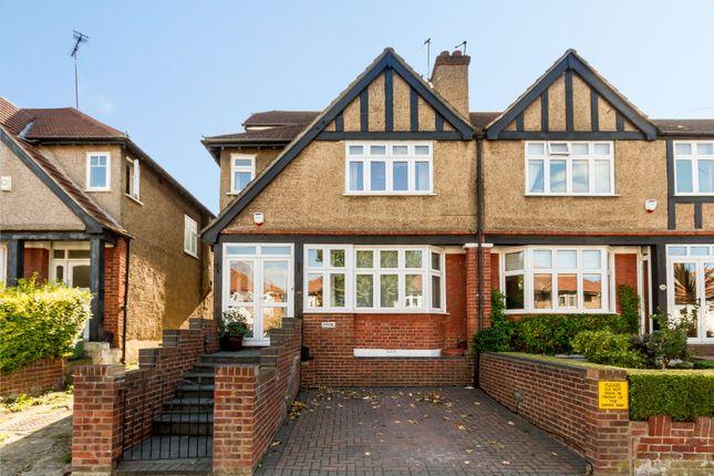 Thumbnail End terrace house for sale in Brookbank Avenue, London